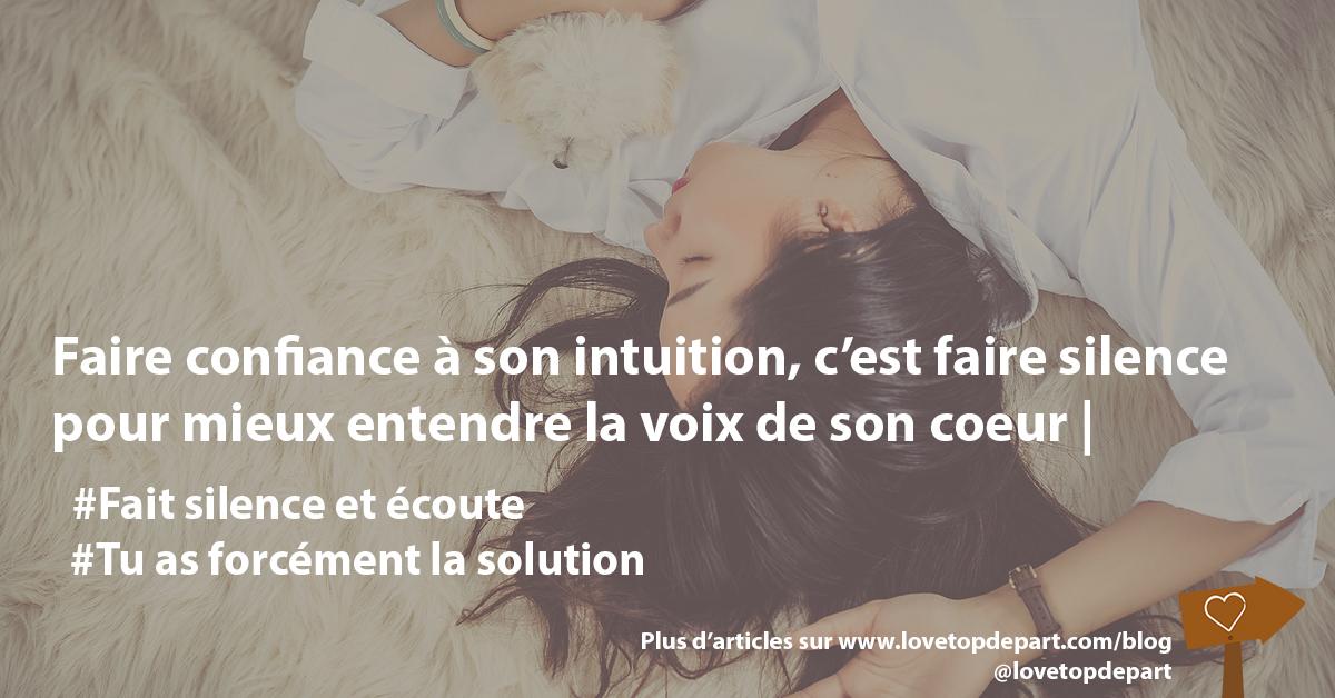3 questions pour bien écouter son intuition en amour