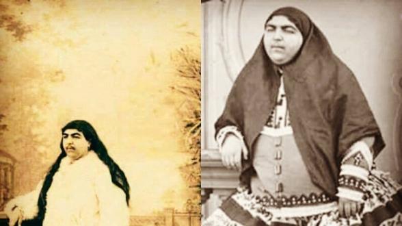 princesse iranienne, symbole de beauté en 1883