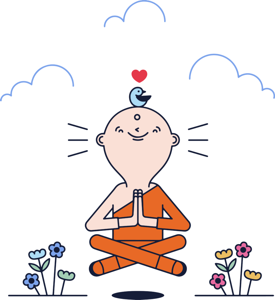 Méditation - lovetopdepart - Dominique VA